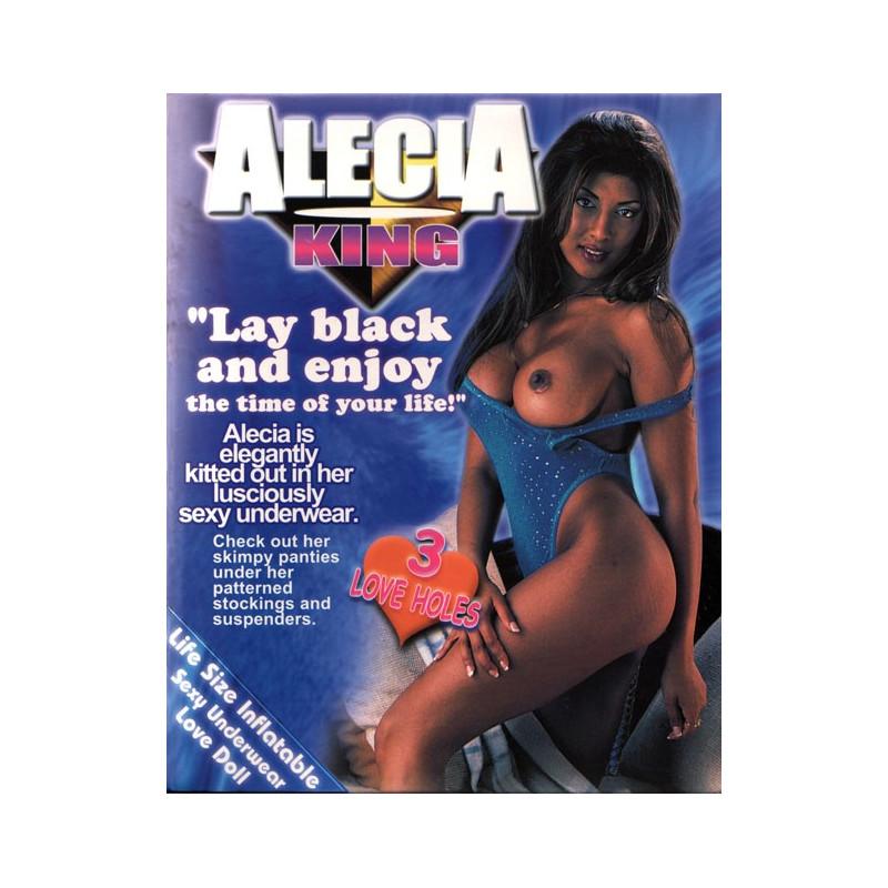 Muñeca hinchable Negra