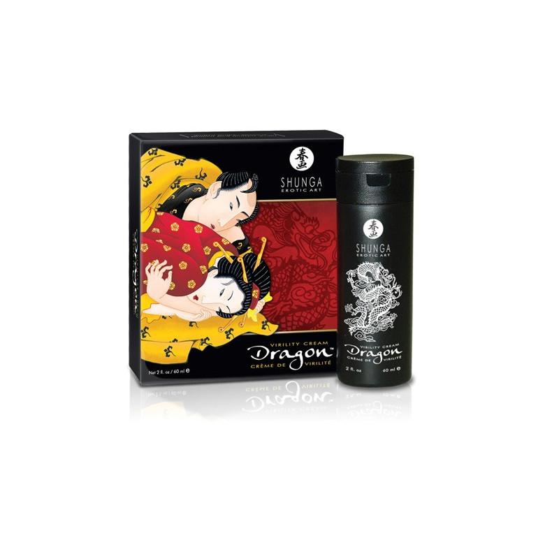 Shunga Dragón crema de virilidad masculina
