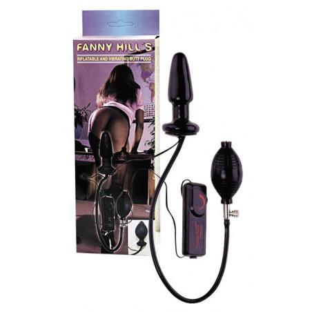 Dilatador Anal con bomba y vibración