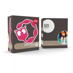 Fun factory flexi felix azul/rosa