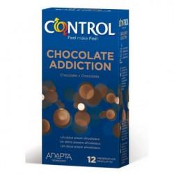 Preservativo control chocolate 12 uni.