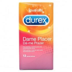 Preservativos durex pleasuremax 12 uni.
