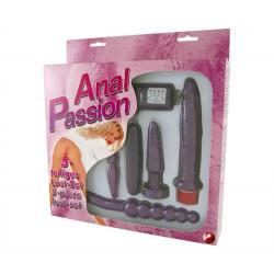 Kit anal passion 5 piezas