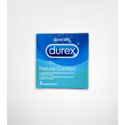Preservativos durex natural 3 unidades