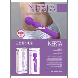 Vibrador y masajeador 2 en 1 Libid Nerta