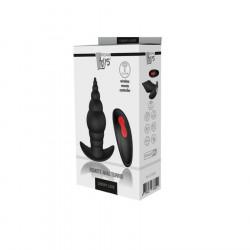 Plug anal vibrador control remoto