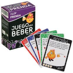Juego de cartas para beber Prendas