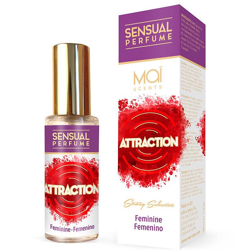 Perfume femenino con feromonas Maï attraction