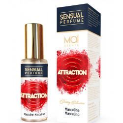 Perfume masculino con feromonas Maï attraction